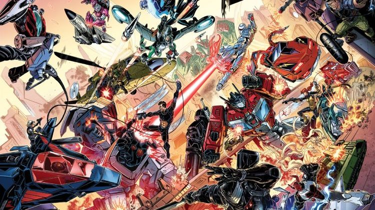 IDW Unites the Hasbro Universe with 'First Strike' Crossover