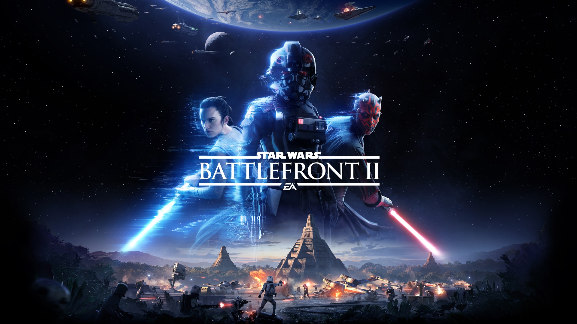 There's A New Story Trailer for Star Wars Battlefront II