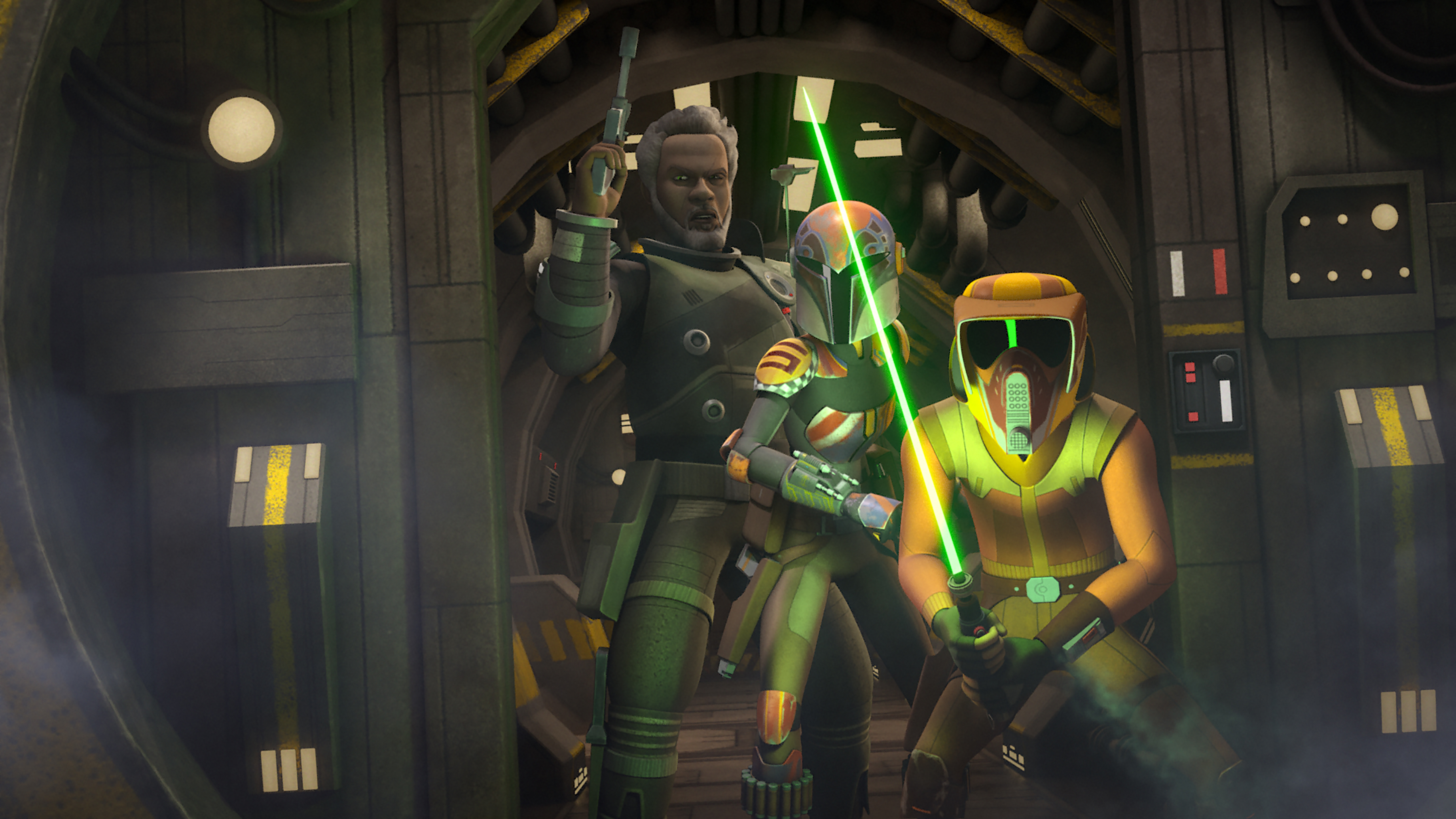 Saw Gerrera Returns For Two Part Star Wars Rebels Adventure