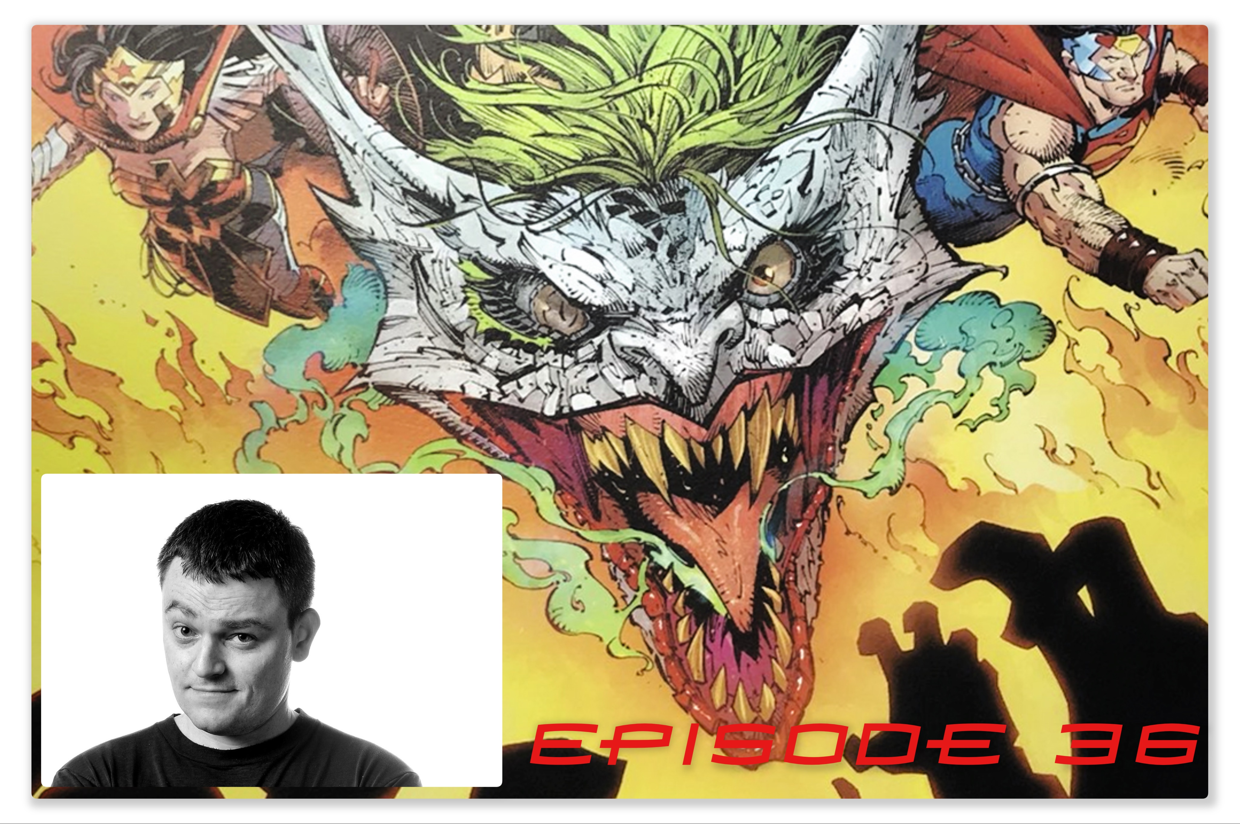 Episode 36: Scott Snyder and I Talk about Metal, Batman and the Signal and Joker Dragons