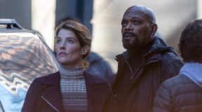 Cobie Smulders and Samuel L Jackson Spotted on Avengers 4 Set